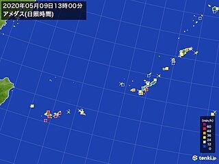 沖縄 長雨の季節を前に明日も貴重な晴れ間