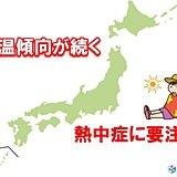 水曜は関東で再び30度に迫る 熱中症リスク高まる 対策は?