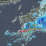 九州 たった半日でひと月分の雨 土砂災害に厳重警戒