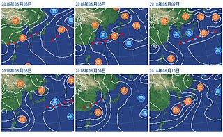 今週中頃 いよいよ東日本でも梅雨入りか