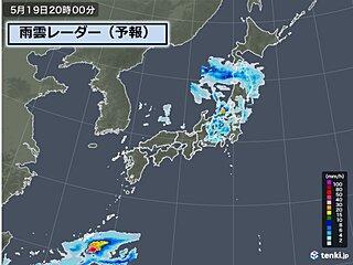明日にかけ「寒冷渦」に注意 激しい雨や落雷、突風
