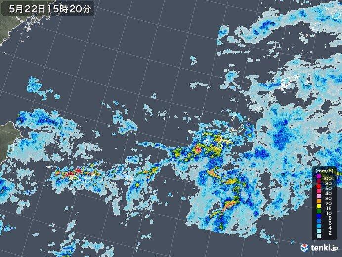 沖縄 梅雨前線の影響で激しい雨 大雨の恐れ