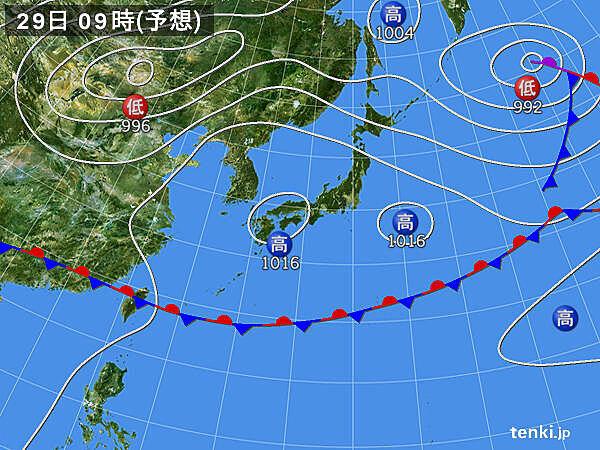 週間 5月なのに北海道で真夏の暑さか 6月1日は広く雨?_画像