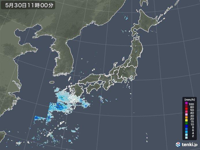 九州南部 梅雨入り