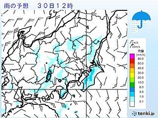 関東 あすも暑さと天気急変に注意 昼前には雨雲発生