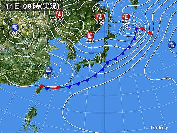 沖縄・奄美・九州南部 梅雨入り 南大東島で5月の降水量過去1位