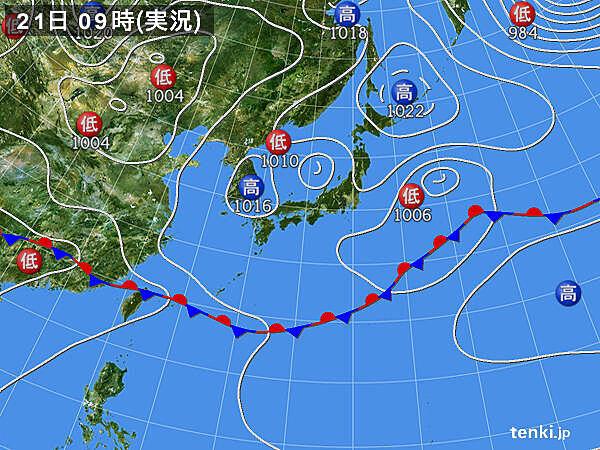 関東・東北 まるで梅雨 東京5日連続で日照0.0時間 42年ぶり