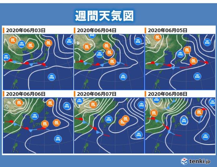 天気は短い周期で変わる あすは晴れても急な雨に注意