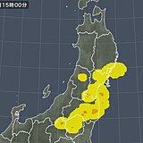 関東・東北で雨雲発達中 この先も雷に注意