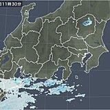 関東甲信 雨雲発達 多い所で100ミリの大雨か