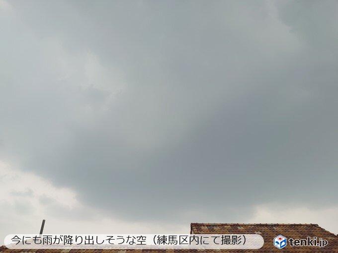 平野部も夕方以降は激しい雨や落雷注意
