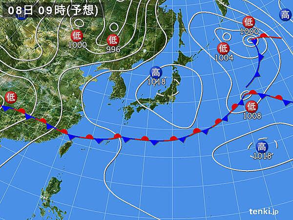 長野や福島で気温35度近くに