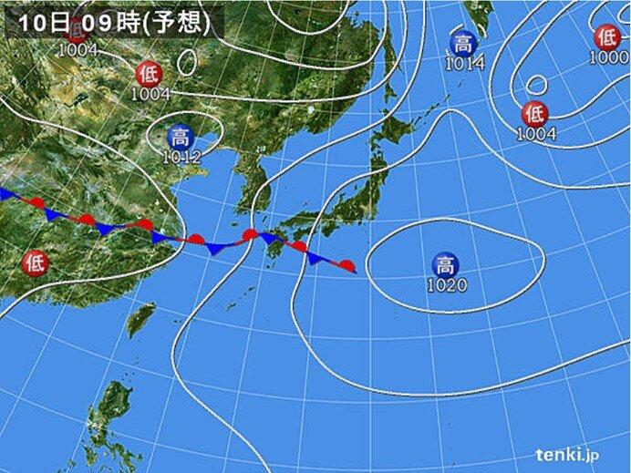 西日本は大雨の所も 東・北日本は厳しい暑さ