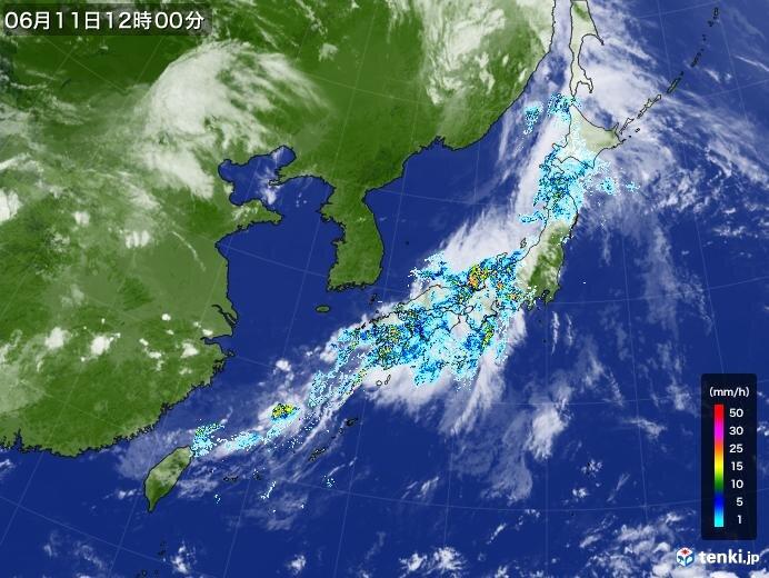 東北も梅雨入り早々 激しい雨の恐れ