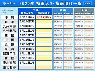 沖縄 梅雨明け 平年より11日早く 夏本番
