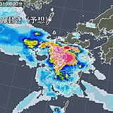 九州 梅雨前線北上 週末、再び大雨のおそれ