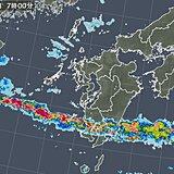 15日 九州南部で滝のような雨 関東甲信は猛烈な暑さ