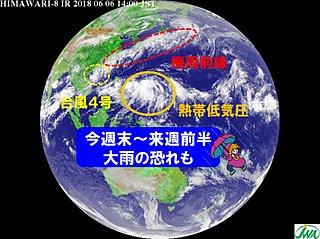 梅雨入り早々 大雨の恐れ 週末から注意