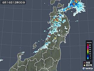 東北 きのう以上に激しい雷雨・竜巻などの突風注意