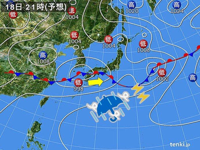 西日本を中心に激しい雨