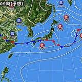 北陸 金曜日は梅雨寒 日曜日は梅雨の晴れ間の部分日食日和