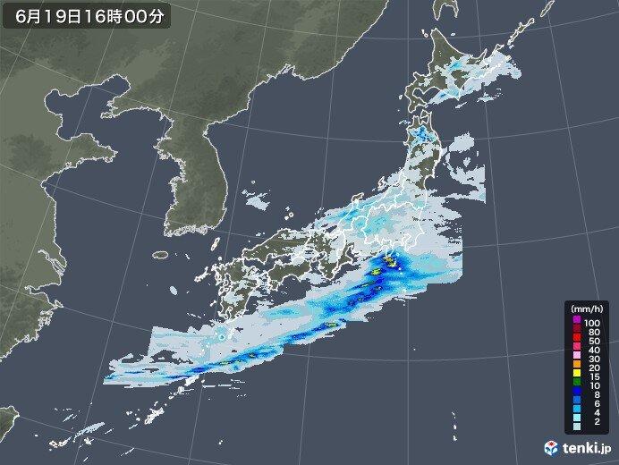 午後は近畿~関東にかけてと土砂災害に注意