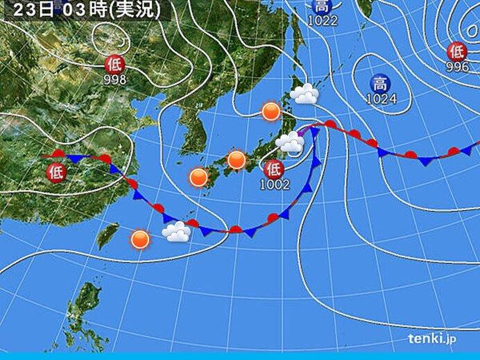 きょうの天気 沖縄と関東など スッキリせず