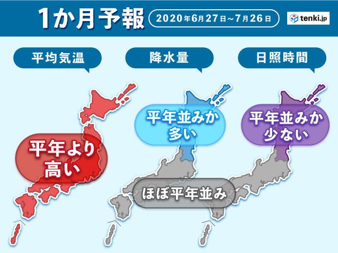 東京都梅雨明け 2020