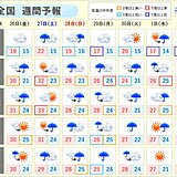 週間 7月に向け梅雨前線活発化 大雨地点が続出か!?