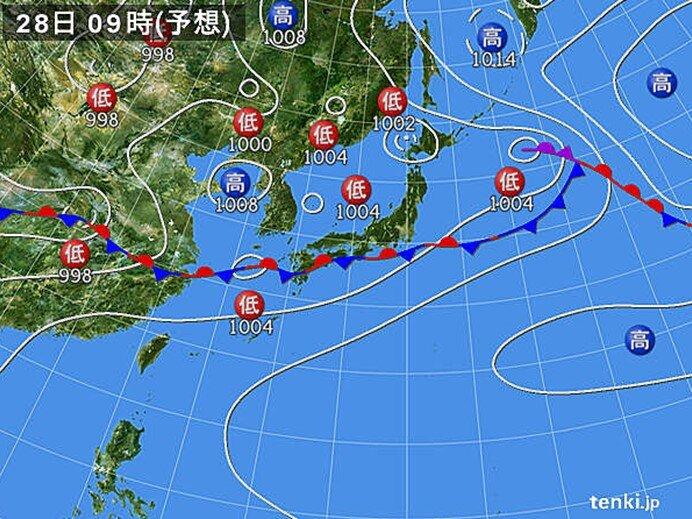 西日本を中心に大雨