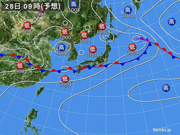 九州南部も土砂災害に警戒