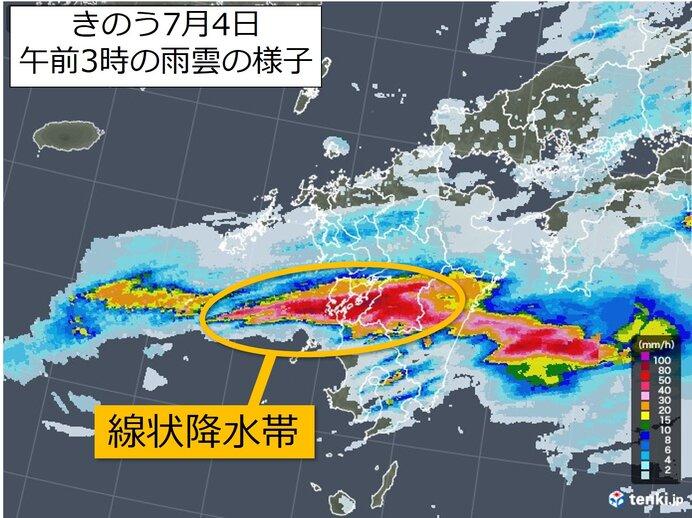 九州は線状降水帯に特に警戒が必要
