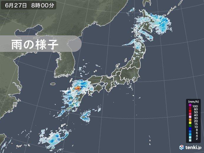 27日(土)~28日(日) 九州を中心に大雨