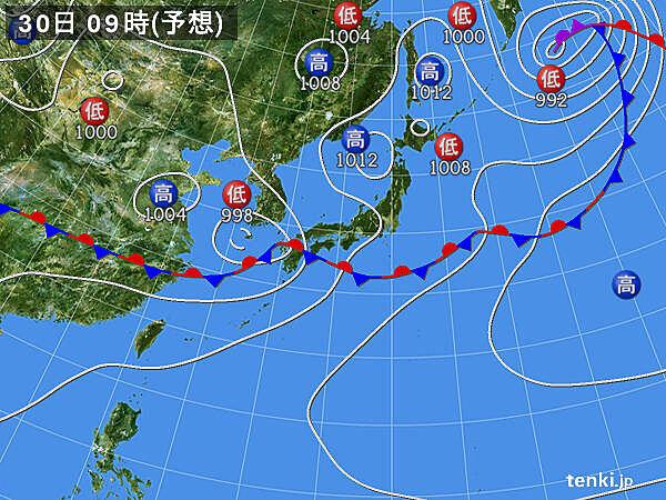 29日(月)~7月1日(水) 今回(27日~28日)以上に雨雲発達か