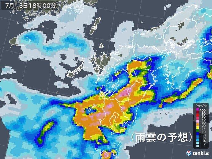九州 梅雨前線活発 来週にかけて梅雨末期の大雨に警戒を