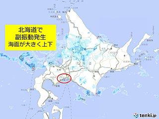 苫小牧東港で副振動 船舶注意