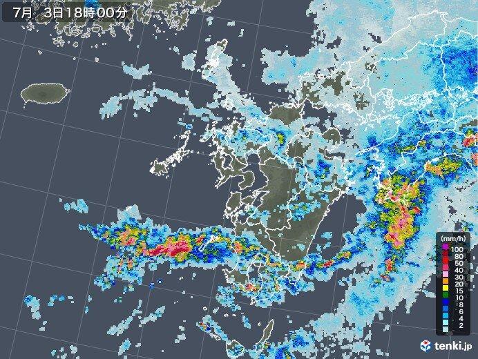 3日 鹿児島県などで総降水量200ミリを超える大雨に