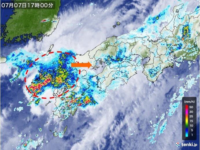 中国地方 あす未明から非常に激しい雨 土砂災害に厳重警戒