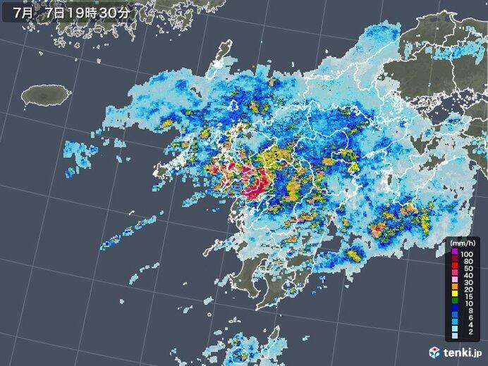 九州 再び激しい雨 夜間も厳重な警戒を