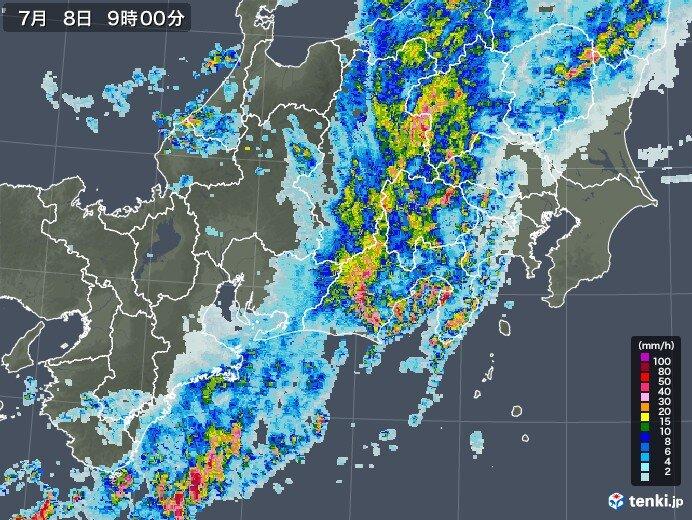 岐阜・長野は雨が止んでも油断禁物 土砂災害や河川氾濫に厳重警戒
