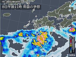 九州 いったん大雨の峠越えるも 引き続き警戒を