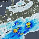 このあと静岡や愛知にも発達した雨雲かかる 警戒強めて 早めの避難を