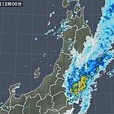福島県で激しい雨 夕方まで土砂災害など警戒