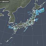 秋田県の新城川や山口県の錦川「氾濫危険水位」超え