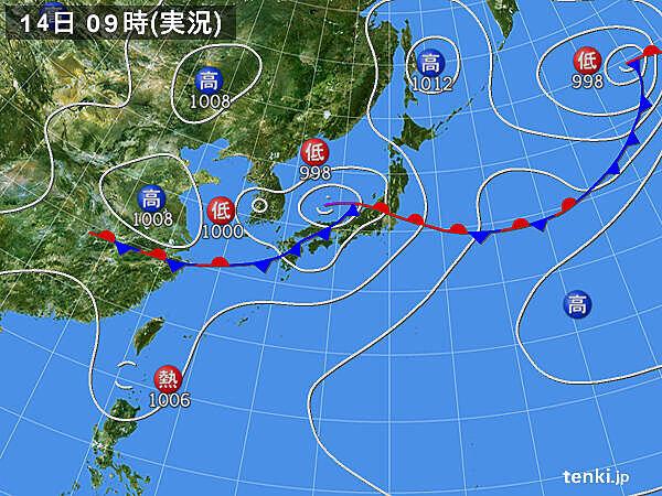 東北 夕方から雨強まる 夜間の土砂災害など十分注意