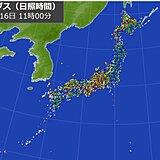 梅雨前線は一時的に南下 西日本・東日本で晴れ間が