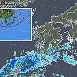九州 来週にかけての雨の見通し