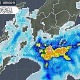 今週末も梅雨空続く 雨が強まる地域は