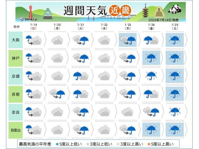 大阪 梅雨 明け は いつ 2021年 関西・近畿の梅雨入り・梅雨明け時期はいつ?平年は?