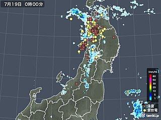 青森・秋田県に竜巻注意情報 落雷や激しい突風 19日夕方まで注意